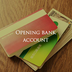 Opening bank account