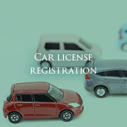 Car license registration
